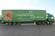 Voiteq customer - Pets at home lorry truck