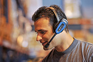 Voice directed work and Headset
