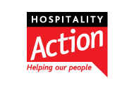 Hospitality Action Helping our people Logo