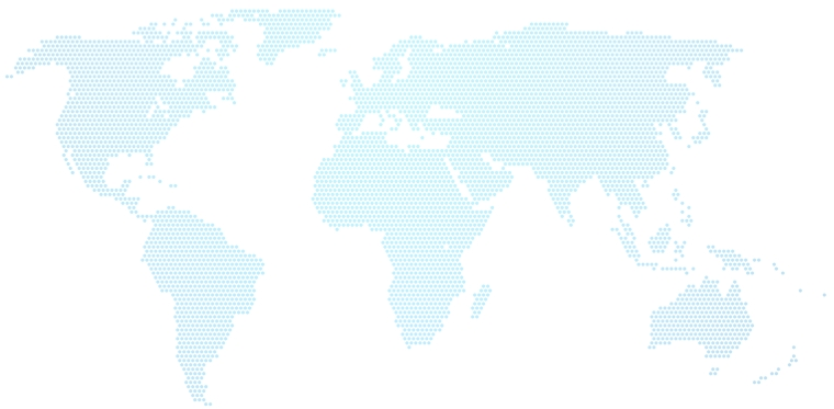 global map lighter made out of dots
