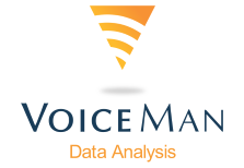 VoiceMan Data Analysis Logo
