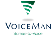 VoiceMan Screen-to-Voice Logo